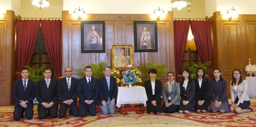 กลาเซล (ประเทศไทย) และกลาเซล แกรนด์ ลงนามถวายพระพรในหลวง